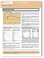 La newsletter de Phoenix Capital Management